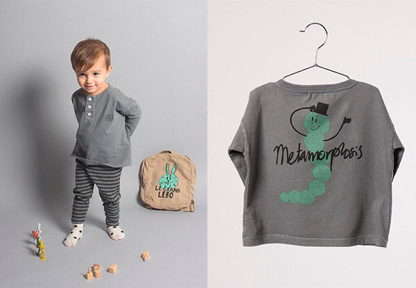 camiseta bobo choses metamorphosis bobo choses aw16 how to disappear hulahoop le petit shop