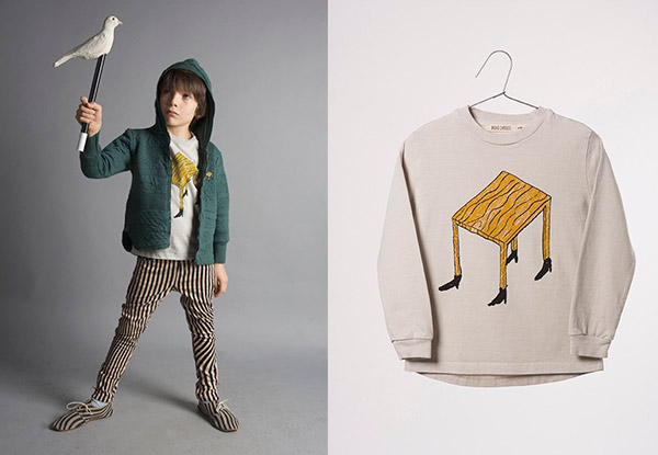 sudadera de bobo choses wandering desk de la nueva colección aw16  how to disappear