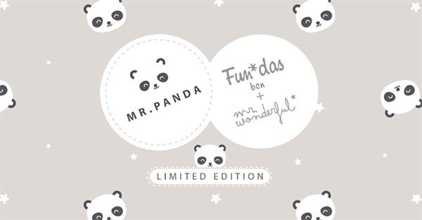 Fundas Bcn Mr Panda, Edición Limitada Mr Wonderful