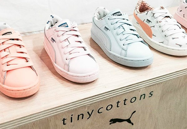 Tinycottons SS17 y Puma