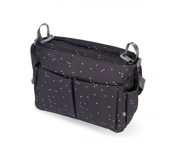 Bolso Bandolera My Bag´s Mini Stars grey (1)