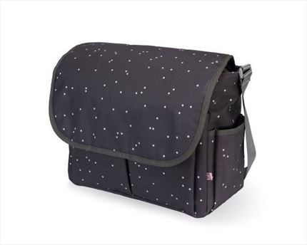 Bolso Bandolera My Bag´s Mini Stars grey