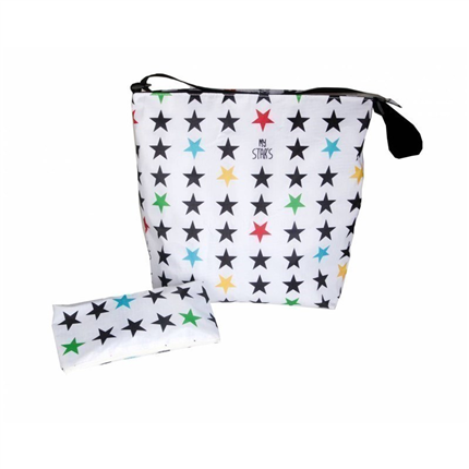 Bolso My Bag´s Stars White -Hulahoop-Le petit shop