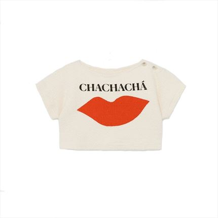 Camiseta Bobo Choses Kiss crudo