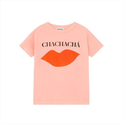 Camiseta Bobo Choses Kiss rosa