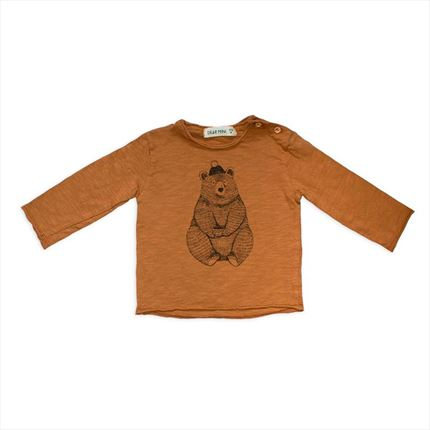 Camiseta Dear Mini Conejo crudo