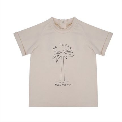 Camiseta Little Indians Bahamas crudo