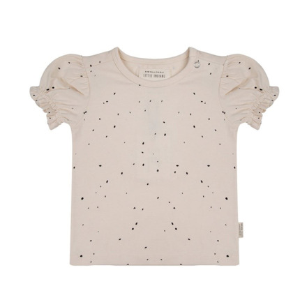 Camiseta Little Indians Dots crudo