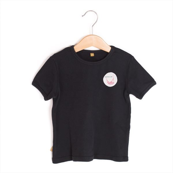 Camiseta Lötiekids With Patch negra