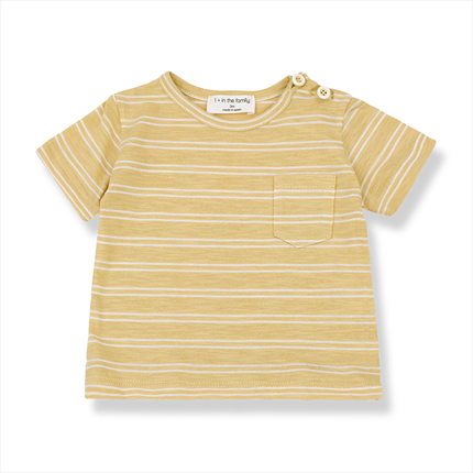 Camiseta Luca 1+ in the family amarillo claro