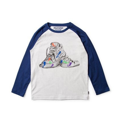 Camiseta Munsterkids Shoe Art Hulahoop-le petit shop