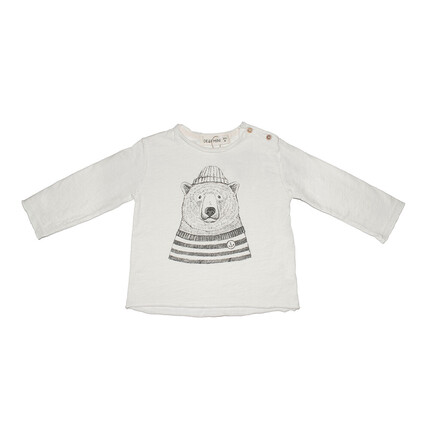 Camiseta Oso Polar Dear Mini blanco