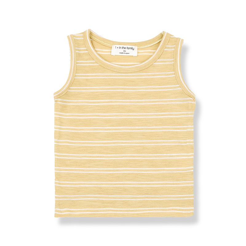 a633acb37 Striped striped shirt Risto 1+ in the family yellow