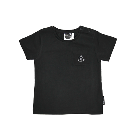 Camiseta Sproet & Sprout Anchor negra