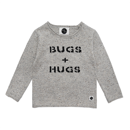 Jersey Sproet & Sprout Bugs & Hugs gris claro