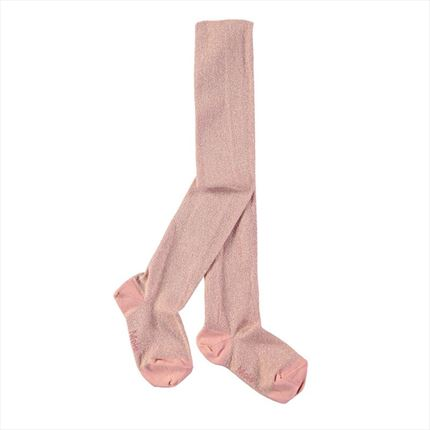 Leotardos Molo Kids Glitter rosa brillo