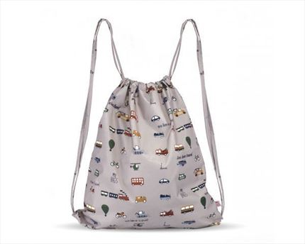 Mochila multiusos My Bag´s We love travel grey