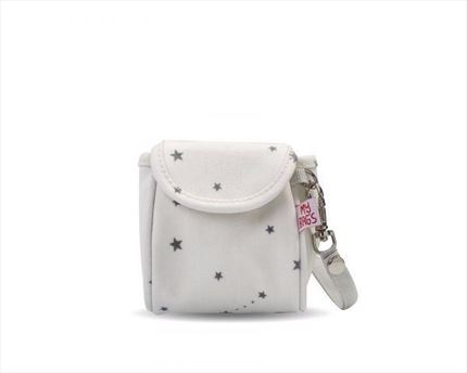 Portachupetes My Bag´s Constellation white