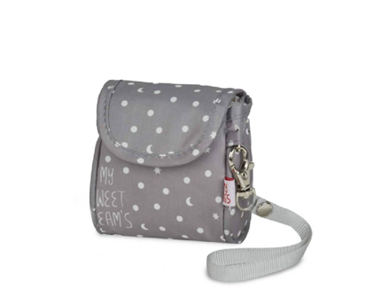 Portachupetes My Bag´s My sweet dreams gris