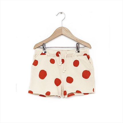 Short Nadadelazos Flamenco Dots beige