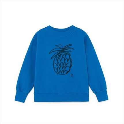 Sudadera Bobo Choses Pineapple azul
