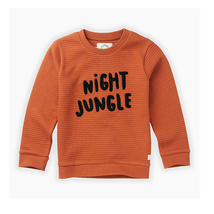 Sudadera Sproet & Sprout Night Jungle caldera