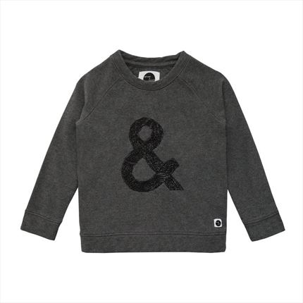 Sudadera Sproet & Sprout & Sign gris oscuro