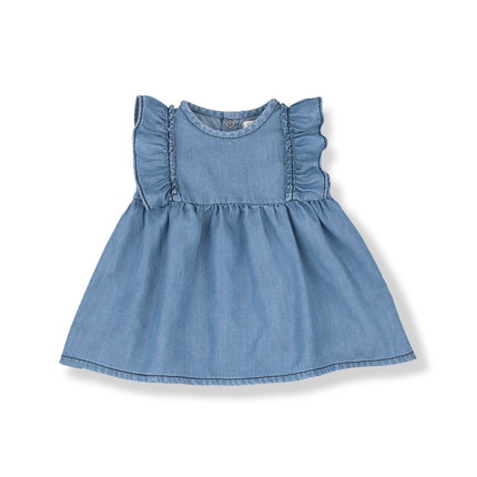 Vestido 1+ in the family Menorca denim